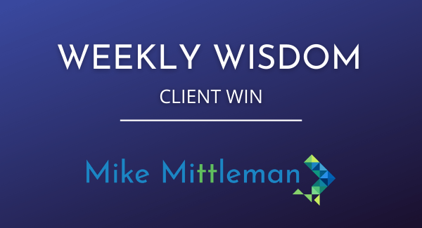 Weekly Wisdom From Client Win: Resume Becoming a Legal Document